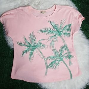 Democracy top pink palm trees   size Large